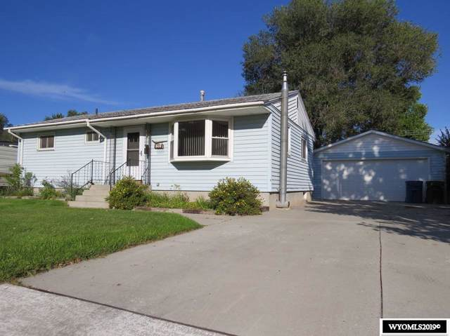 809 N 12th St E, Riverton, WY 82501 (MLS #20195459) :: Lisa Burridge & Associates Real Estate