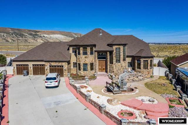 2725 Thunder Gulch Lane, Rock Springs, WY 82901 (MLS #20195495) :: Real Estate Leaders