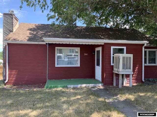 241 12 Street, Rawlins, WY 82301 (MLS #20195527) :: Real Estate Leaders