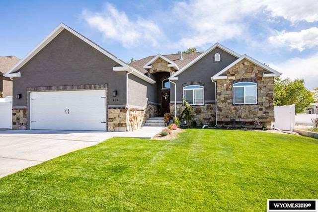 309 Pinnacle Drive, Rock Springs, WY 82901 (MLS #20195574) :: Lisa Burridge & Associates Real Estate