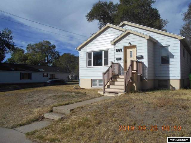 802 8th Street, Rawlins, WY 82301 (MLS #20195630) :: RE/MAX The Group