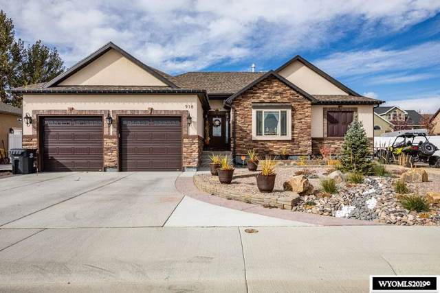 918 Winchester Boulevard, Rock Springs, WY 82901 (MLS #20196058) :: Lisa Burridge & Associates Real Estate