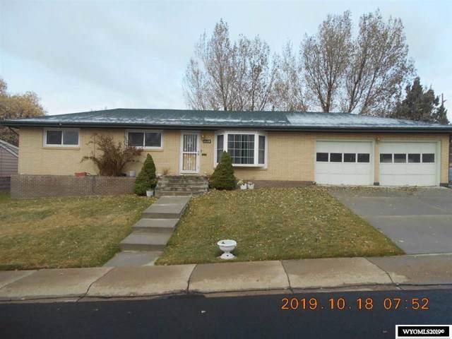 1320 Weaver Street, Rawlins, WY 82301 (MLS #20196060) :: Lisa Burridge & Associates Real Estate