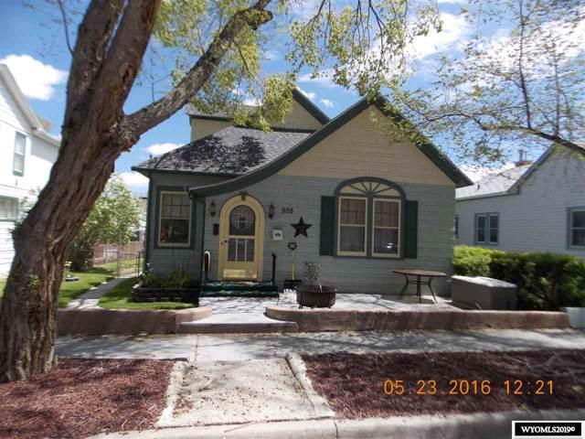 505 B Street, Rock Springs, WY 82901 (MLS #20196148) :: Real Estate Leaders