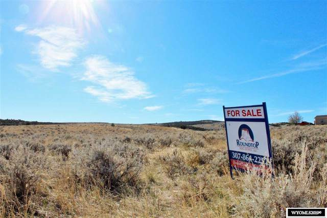 Lot 54 Sage Valley, Thermopolis, WY 82443 (MLS #20196201) :: RE/MAX The Group