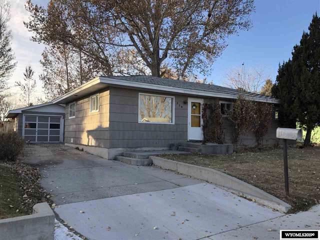 714 N 2nd W, Riverton, WY 82501 (MLS #20196462) :: Lisa Burridge & Associates Real Estate