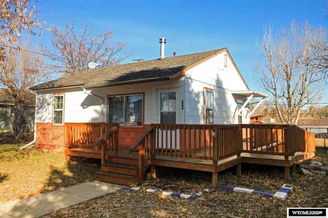 317 S 11th, Thermopolis, WY 82443 (MLS #20196463) :: Real Estate Leaders