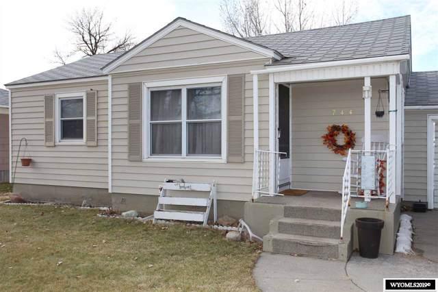 744 S 15th Street, Worland, WY 82401 (MLS #20196566) :: Lisa Burridge & Associates Real Estate