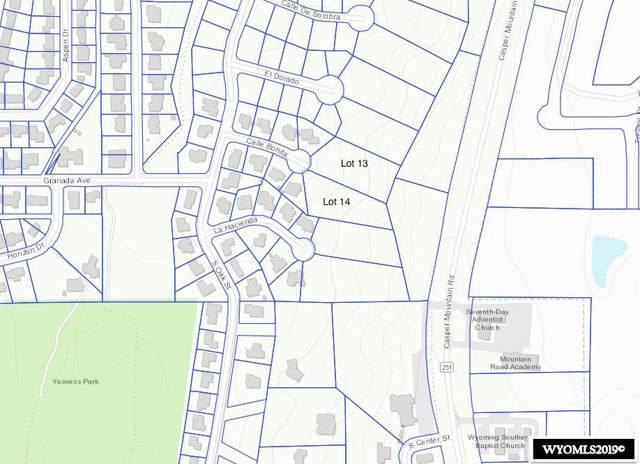Lot 14 Calle Bonita, Casper, WY 82601 (MLS #20196688) :: Real Estate Leaders
