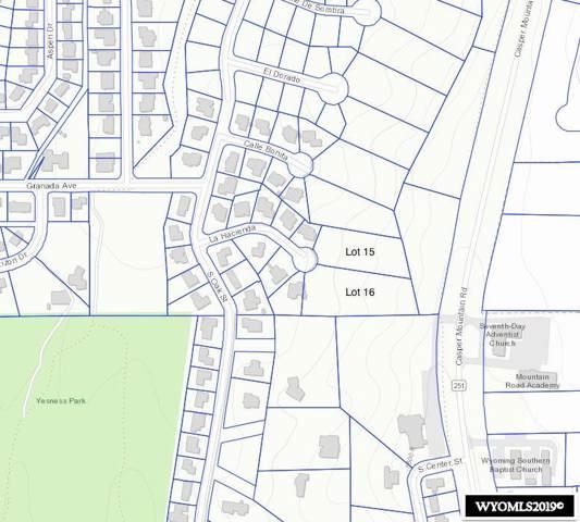Lot 16 La Hacienda, Casper, WY 82601 (MLS #20196692) :: Real Estate Leaders