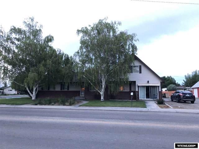 600 N 15th, Worland, WY 82401 (MLS #20196746) :: Lisa Burridge & Associates Real Estate
