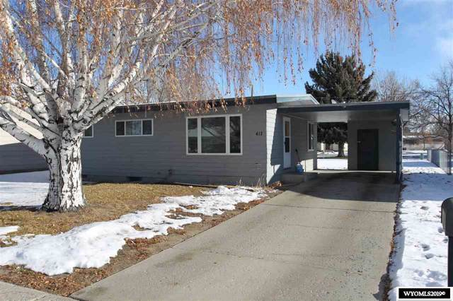 417 S 16th Street, Worland, WY 82401 (MLS #20196828) :: Real Estate Leaders