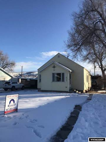 633 Washakie Street, Thermopolis, WY 82443 (MLS #20196881) :: RE/MAX The Group