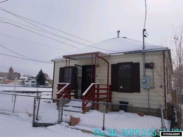 109 Thomas St, Rock Springs, WY 82901 (MLS #20196942) :: Lisa Burridge & Associates Real Estate