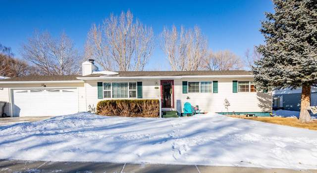 615 Hackberry Street, Green River, WY 82935 (MLS #20200136) :: RE/MAX The Group