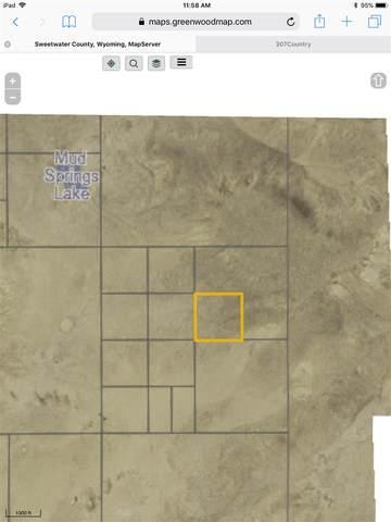 40 Fallon (Red Desert), Wamsutter, WY 82336 (MLS #20200664) :: Real Estate Leaders