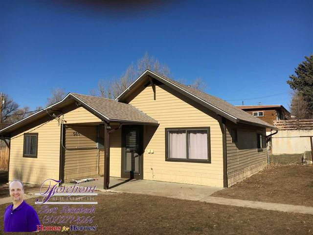 505 Benton Avenue, Mills, WY 82604 (MLS #20201151) :: Lisa Burridge & Associates Real Estate