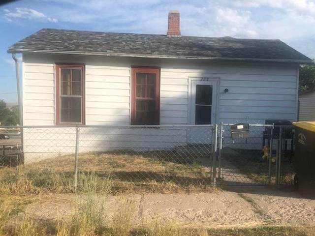 222 E Buffalo, Rawlins, WY 82301 (MLS #20201245) :: Real Estate Leaders