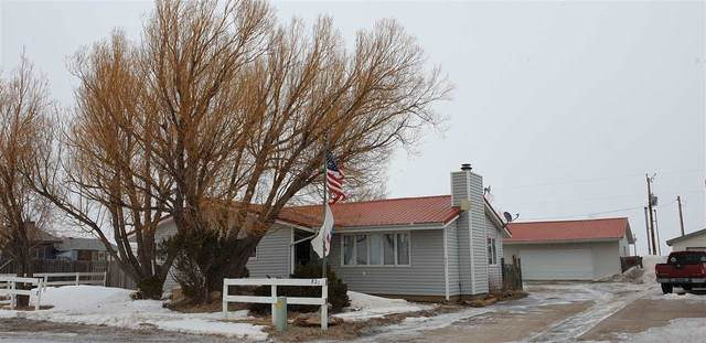 821 Maple Street, Medicine Bow, WY 82329 (MLS #20201353) :: Real Estate Leaders