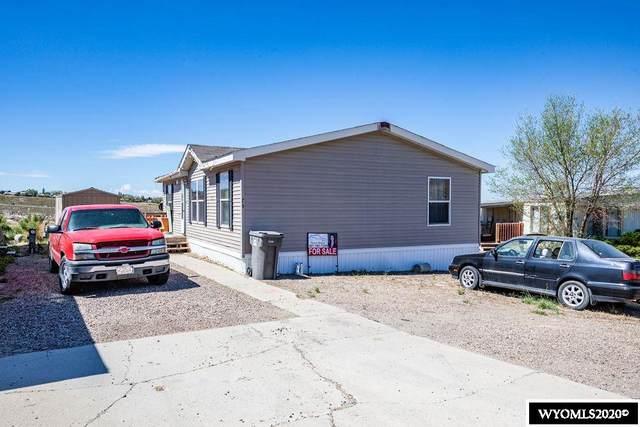 1700 Swanson Dr #76, Rock Springs, WY 82901 (MLS #20202720) :: Real Estate Leaders