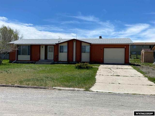 114 S Clark, Hanna, WY 82327 (MLS #20202759) :: RE/MAX The Group