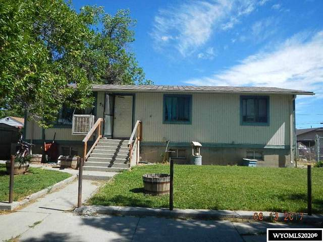 512 Clark Street, Thermopolis, WY 82443 (MLS #20202840) :: Lisa Burridge & Associates Real Estate