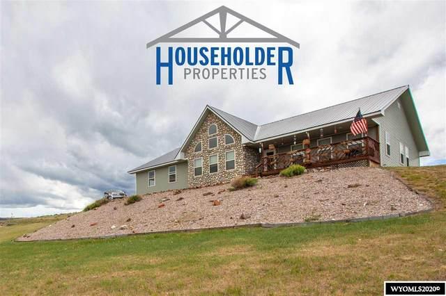 301 Hillside Drive, Lander, WY 82520 (MLS #20202975) :: Real Estate Leaders