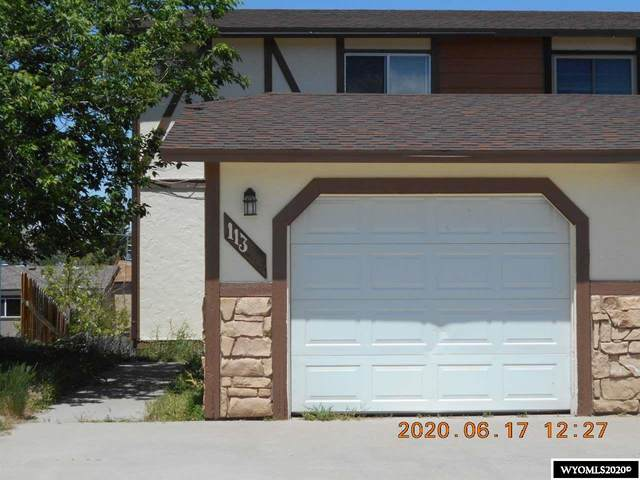 113 E Miller Street, Rawlins, WY 82301 (MLS #20203159) :: RE/MAX The Group