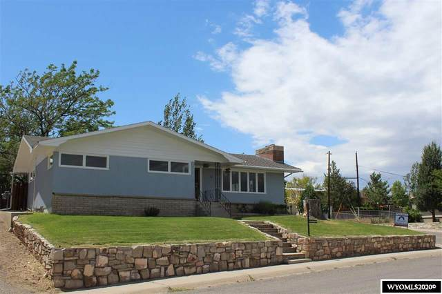 101 Sunset Drive, Thermopolis, WY 82443 (MLS #20203236) :: Real Estate Leaders
