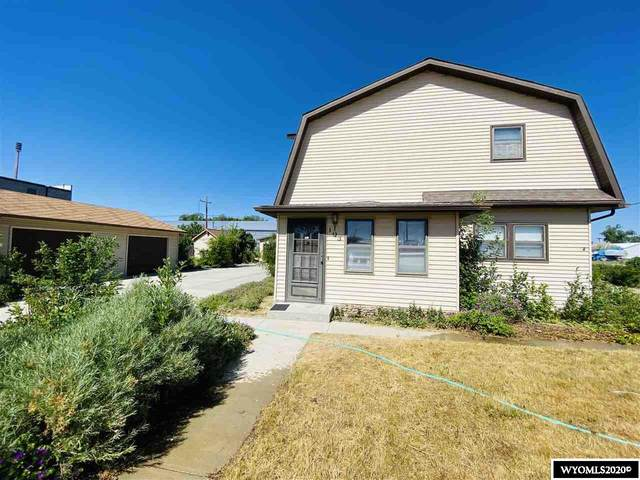 103 S 7th, Glenrock, WY 82637 (MLS #20203298) :: RE/MAX The Group