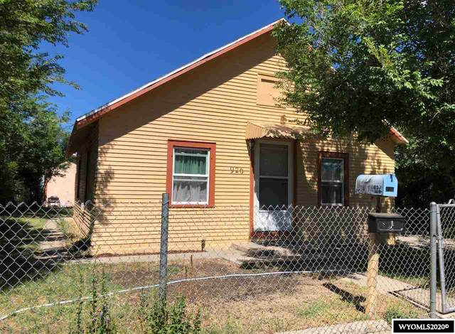 926 & 926 1/2 N Lincoln Street, Casper, WY 82601 (MLS #20203482) :: RE/MAX The Group