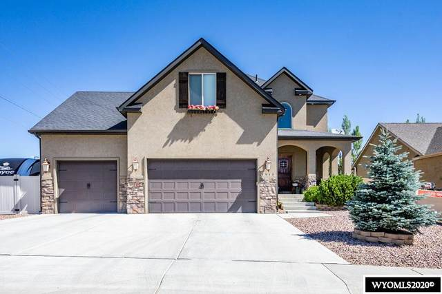 3513 Scott Drive, Rock Springs, WY 82901 (MLS #20203618) :: Real Estate Leaders
