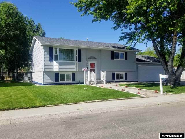 2100 Yellowstone, Worland, WY 82401 (MLS #20203672) :: Real Estate Leaders