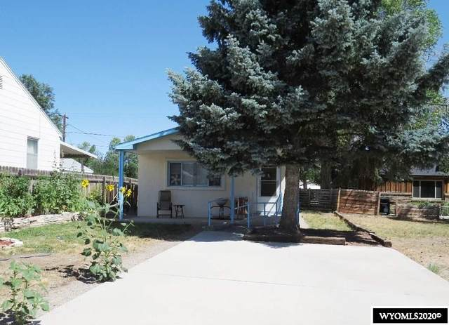 720 Richards Street, Thermopolis, WY 82443 (MLS #20203741) :: Lisa Burridge & Associates Real Estate