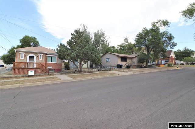 161 & 171 N 3rd E Street, Green River, WY 82935 (MLS #20204256) :: RE/MAX The Group