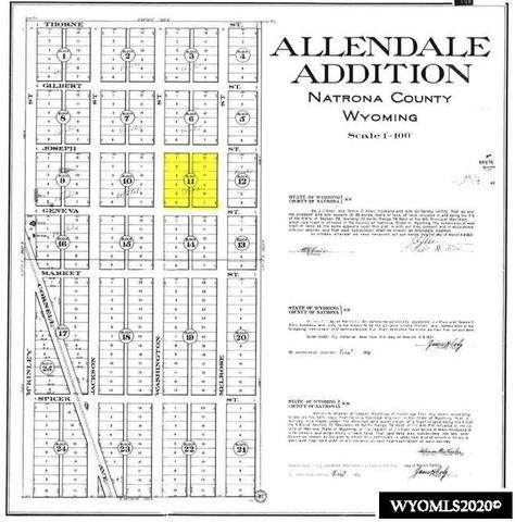 Allendale Lots 1-12 Block 11, Casper, WY 82601 (MLS #20204525) :: Lisa Burridge & Associates Real Estate