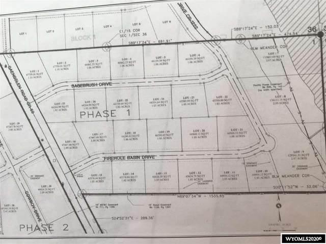 Lot #27 Sagebrush Drive, Green River, WY 82935 (MLS #20204720) :: Real Estate Leaders