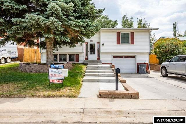 224 Taylor Street, Rock Springs, WY 82901 (MLS #20204803) :: RE/MAX The Group