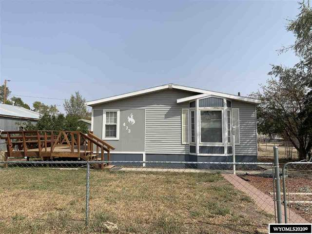 473 Tollgate Ave, Green River, WY 82935 (MLS #20205252) :: Lisa Burridge & Associates Real Estate