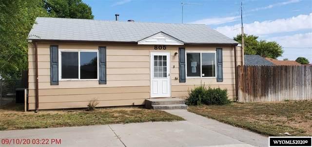 805 S 6th Street, Worland, WY 82401 (MLS #20205315) :: Lisa Burridge & Associates Real Estate