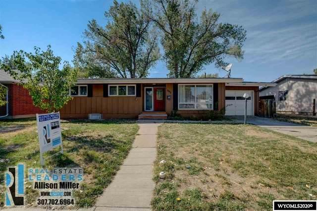 1842 Fremont Avenue, Casper, WY 82604 (MLS #20205452) :: Lisa Burridge & Associates Real Estate
