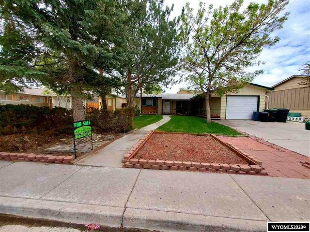 435 Ironwood, Green River, WY 82935 (MLS #20205545) :: Real Estate Leaders