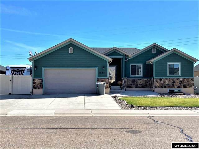 1323 Pronghorn, Rock Springs, WY 82901 (MLS #20205549) :: Lisa Burridge & Associates Real Estate