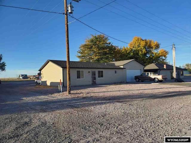 105 E 3rd Avenue, Yoder, WY 82244 (MLS #20205797) :: Lisa Burridge & Associates Real Estate