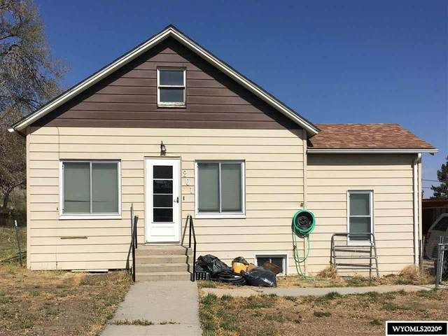 201 E Spruce Street, Rawlins, WY 82301 (MLS #20205925) :: Real Estate Leaders