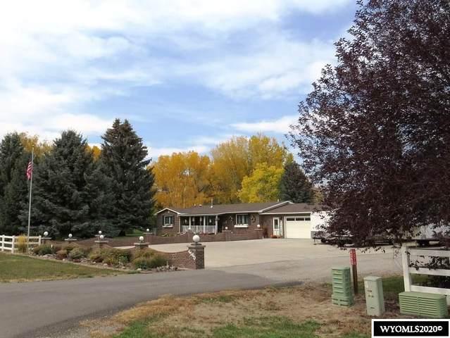 4560 Riverview Road, Riverton, WY 82501 (MLS #20205928) :: Lisa Burridge & Associates Real Estate