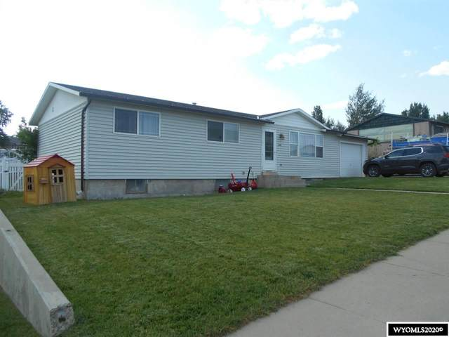 1210 Alpha Street, Rawlins, WY 82301 (MLS #20205996) :: Real Estate Leaders