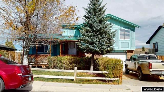 1415 Moran Street, Green River, WY 82935 (MLS #20206006) :: Real Estate Leaders