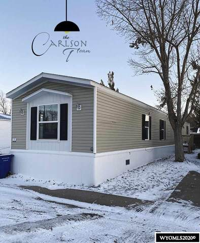 2760 Robertson Rd. #77, Casper, WY 82604 (MLS #20206085) :: Real Estate Leaders