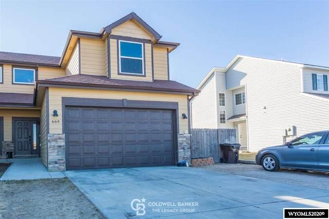 669 7Th Street, Evansville, WY 82636 (MLS #20206541) :: RE/MAX Horizon Realty